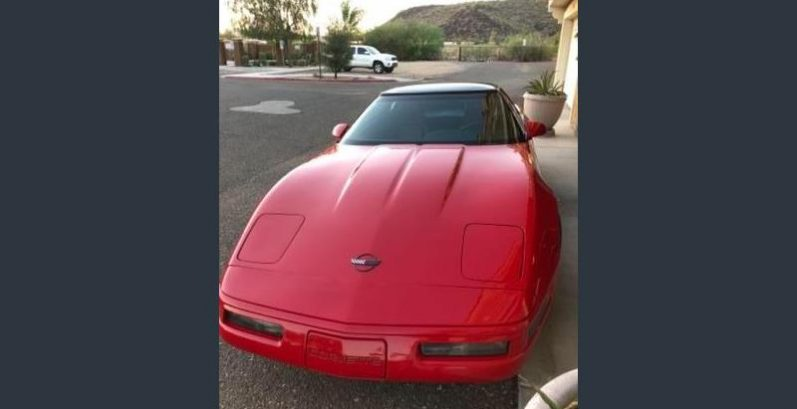Tylor in Maricopa Just Got $4980 for a 1992 Chevrolet Corvette