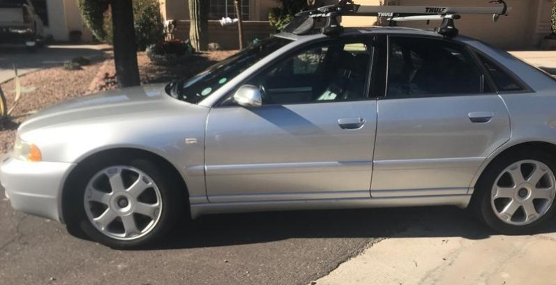 Darnell in Wickenburg Just Got $5100 for a 2001 Audi S4