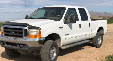 Earl in Apache Junction Just Got $5700 for a 2001 Ford F250 Lariat
