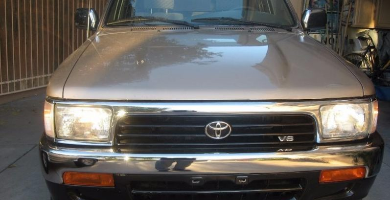 Armando in Chandler Just Got $4195 for a 1994 Toyota 4Runner SR5