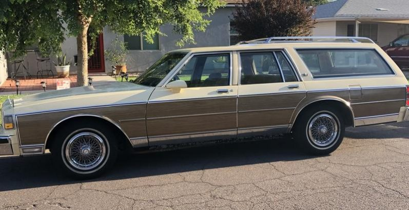 Angel in Gila Bend Just Got $4800 for a 1987 Chevrolet Caprice Classic
