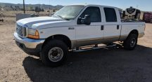 Leilani in Cave Creek Just Got $5520 for a 2001 Ford F250 Lariat