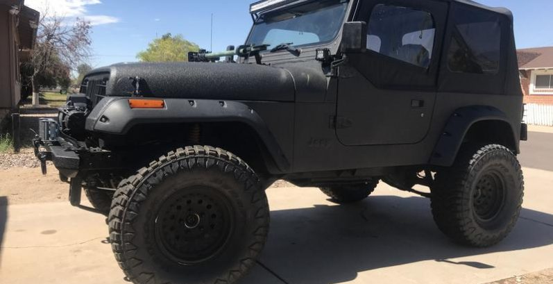 Ahmed in Maricopa Just Got $5100 for a 1995 Jeep Wrangler SE