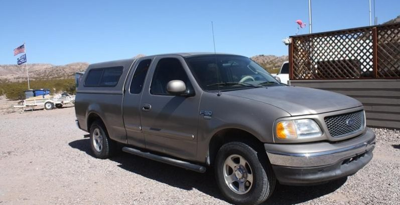 Ricardo in Sun Lakes Just Got $3540 for a 2003 Ford F150 2WD