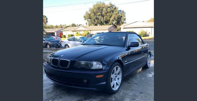 Zane in Peoria Just Got $1800 for a 2002 BMW 325Ci Convertible