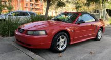 Jacques in Cave Creek Just Got $1800 for a 2004 Ford Mustang Convertible