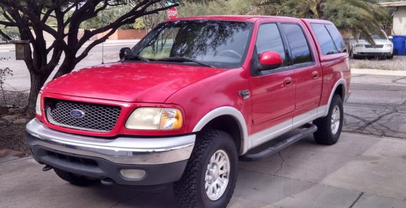 Malachi in Anthem Just Got $2280 for a 2001 Ford F150 4x4